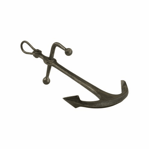 Stylized Sculptured Iron Anchor by Cyan Design