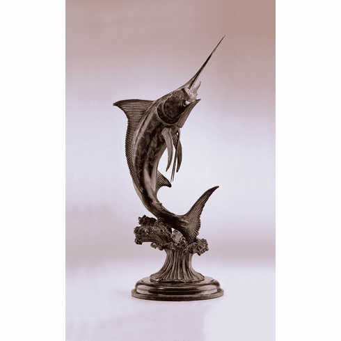 Sweet Success Marlin Sculpture by SPI Home