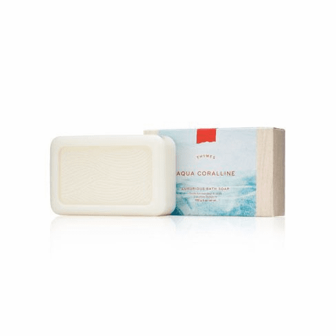 Thymes Aqua Coralline Luxurious Bath Soap