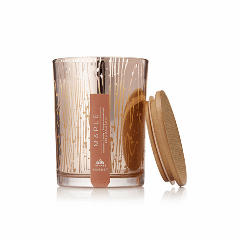 Thymes Forest Poured Candle Maple