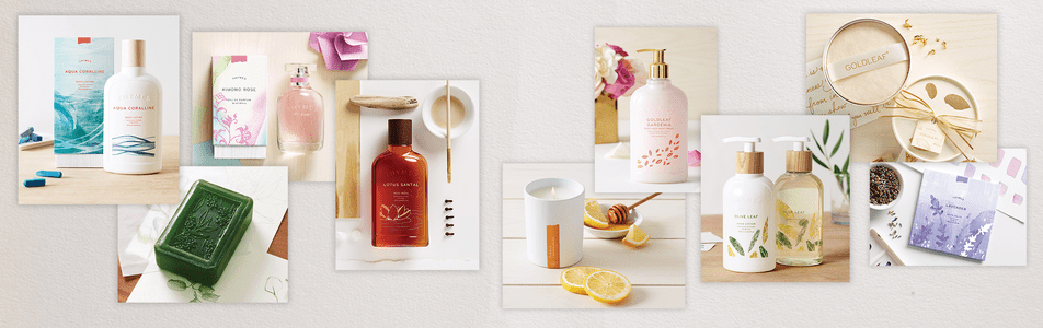 Thymes Fragrances, Lotions & Soaps