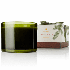 Thymes Frasier Fir 3-wick Poured Candle 17 oz