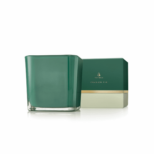 Thymes Frasier Fir Large Emerald Grand Noble Candle 15 oz