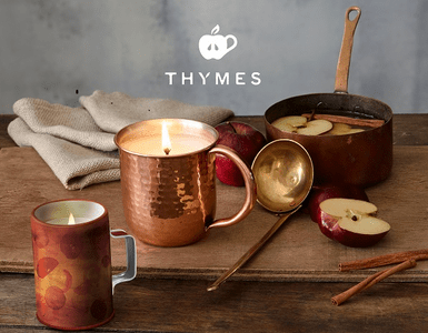 Thymes Simmered Cider Holiday Fragrance Collection