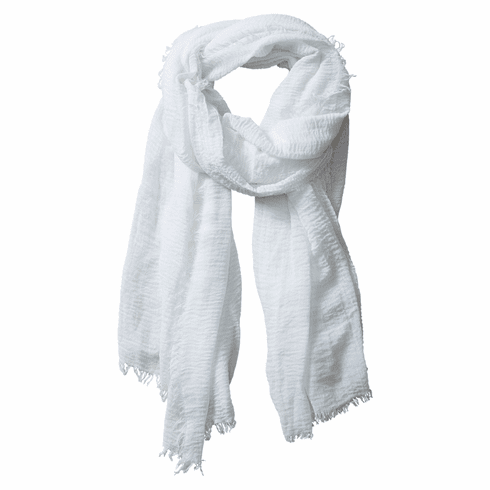 Tickled Pink Insect Shield Scarf - Ivory