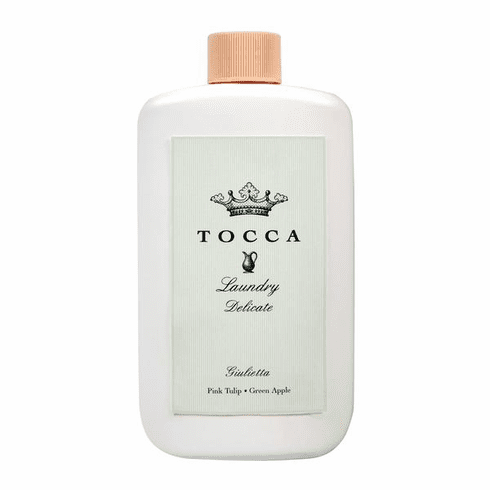 Tocca Giulietta Laundry Delicate - 8oz Pink Tulip, Green Apple Fine Fabric Wash