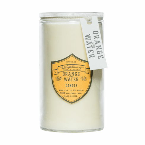 US Apothecary 16 Oz Candle - Orange Water