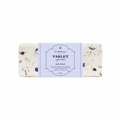 US Apothecary Bar Soap Violet & Yarrow