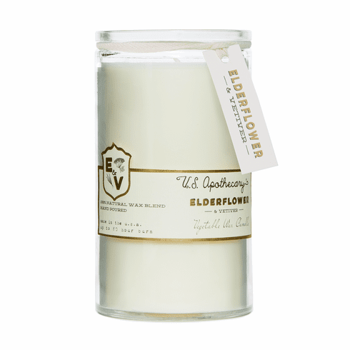 US Apothecary Elder Flower and Vetiver Candle