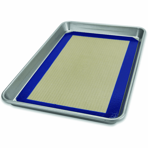 USA Pan Jelly Roll Pan with Baking Mat Set
