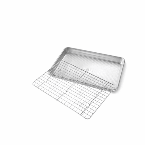 USA Pan Quarter Sheet Baking Rack Set