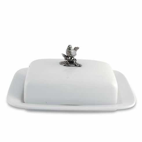Vagabond House Butter Dish - Song Bird