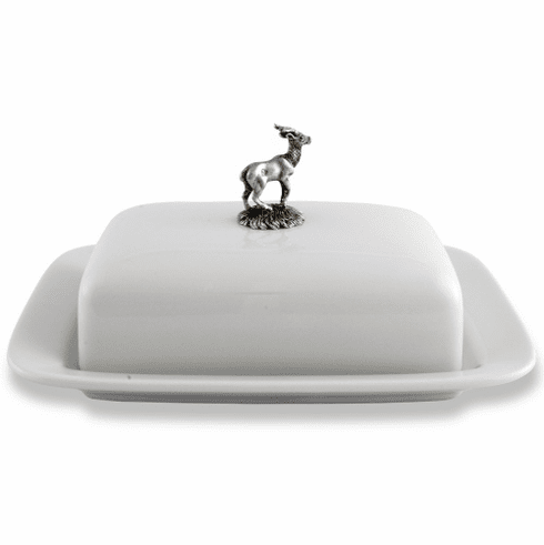 Vagabond House Butter Dish - Stag