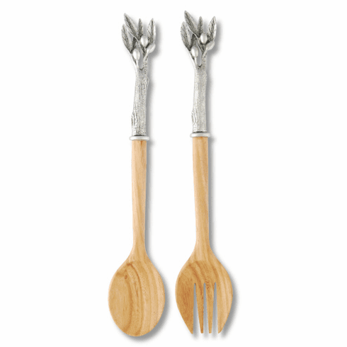 Vagabond House Salad Serving Set -  Olive