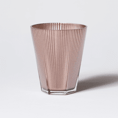 Vietri Accordion Copper Short 10oz Tumbler (Set of 4)