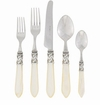 Vietri Aladdin Antique Ivory Flatware