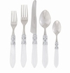 Vietri Aladdin Brilliant White Flatware