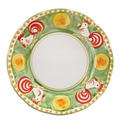 "Vietri Campagna Gallina Rooster 10"" D Dinner Plate"