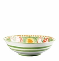 "Vietri Campagna Gallina Rooster 12"" D Large Serving Bowl"