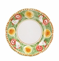 "Vietri Campagna Gallina Rooster 12"" D Service Plate or Charger"