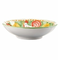 "Vietri Campagna Gallina Rooster 8.75"" D Coupe Pasta Bowl"
