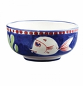 "Vietri Campagna Pesce Fish 5"" D Cereal/Soup Bowl"