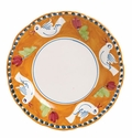 "Vietri Campagna Uccello Bird 12"" D Service Plate or Charger Plate"