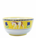 Vietri Campagna Cavallo Deep Serving Bowl
