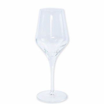 Vietri Contessa Clear Water Glass