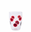 Vietri Drop Tall Tumbler - Red
