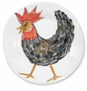 Vietri Fortunata Rooster Large Shallow Bowl