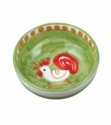 Vietri Campagna Gallina (Rooster) Olive Oil Bowl