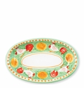 Vietri Campagna Gallina Small Oval Tray