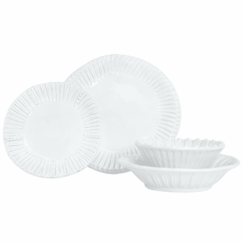 Vietri Incanto Stripe Four-Piece Place Setting