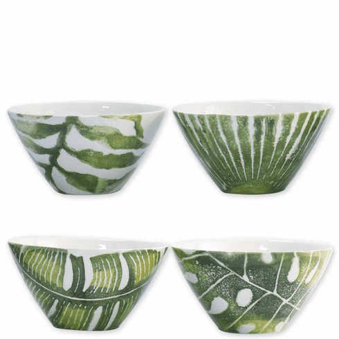Vietri Into the Jungle Assorted Cereal Bowls – Set of 4