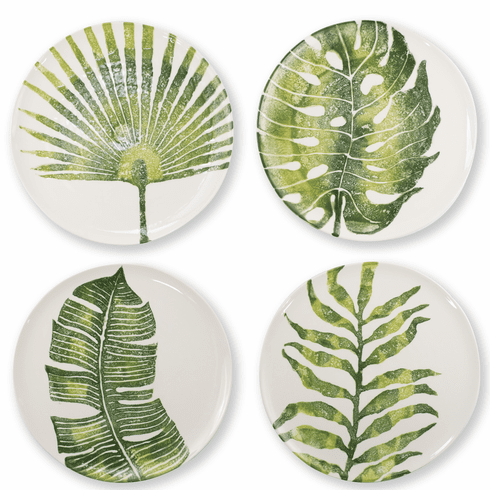 Vietri Into the Jungle Assorted Dinner Plates – Set of 4