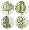 Vietri Into the Jungle Assorted Dinner Plates � Set of 4