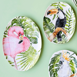 Vietri Into the Jungle Dinnerware Collection