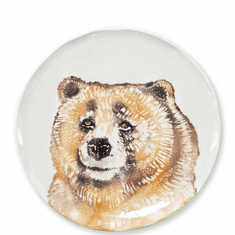 Vietri Into the Woods Bear Salad Plate