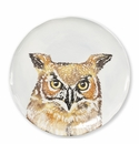 Vietri Into the Woods Owl Salad Plate