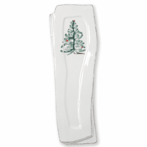 Vietri Lastra Holiday Spoon Rest
