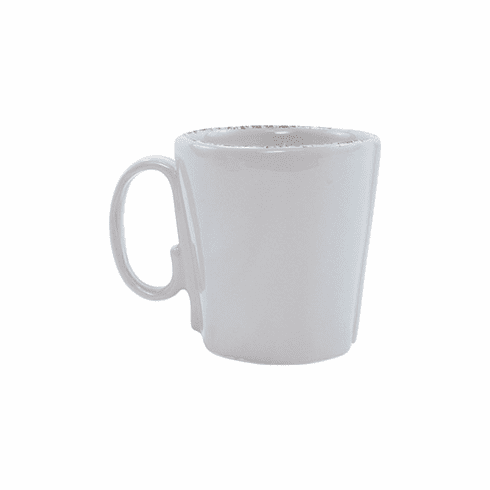 Vietri Lastra Light Gray Mug