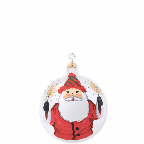 Vietri Old St. Nick 2018 Limited Edition Ornament