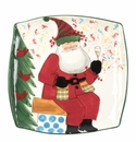Vietri Old St. Nick 2018 Limited Edition Square Platter