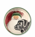 Vietri Old St. Nick Dog Bowl
