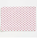 Vietri Old St Nick Red and White Striped/Dot Reversible Placemat