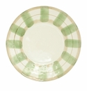 Vietri Olive Striped Service Plate/Charger