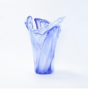 Vietri Onda Glass Cobalt Large Vase
