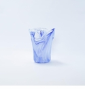 Vietri Onda Glass Cobalt Small Vase