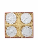 Vietri Ornaments Assorted Seasonal Ornaments